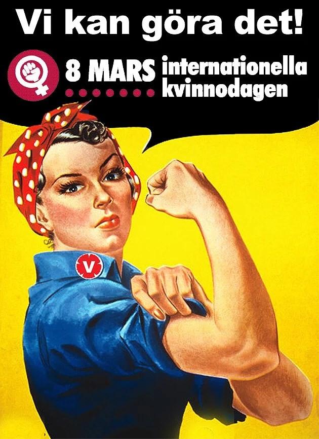 Internationella kvinnodagen är inte en dag att fira