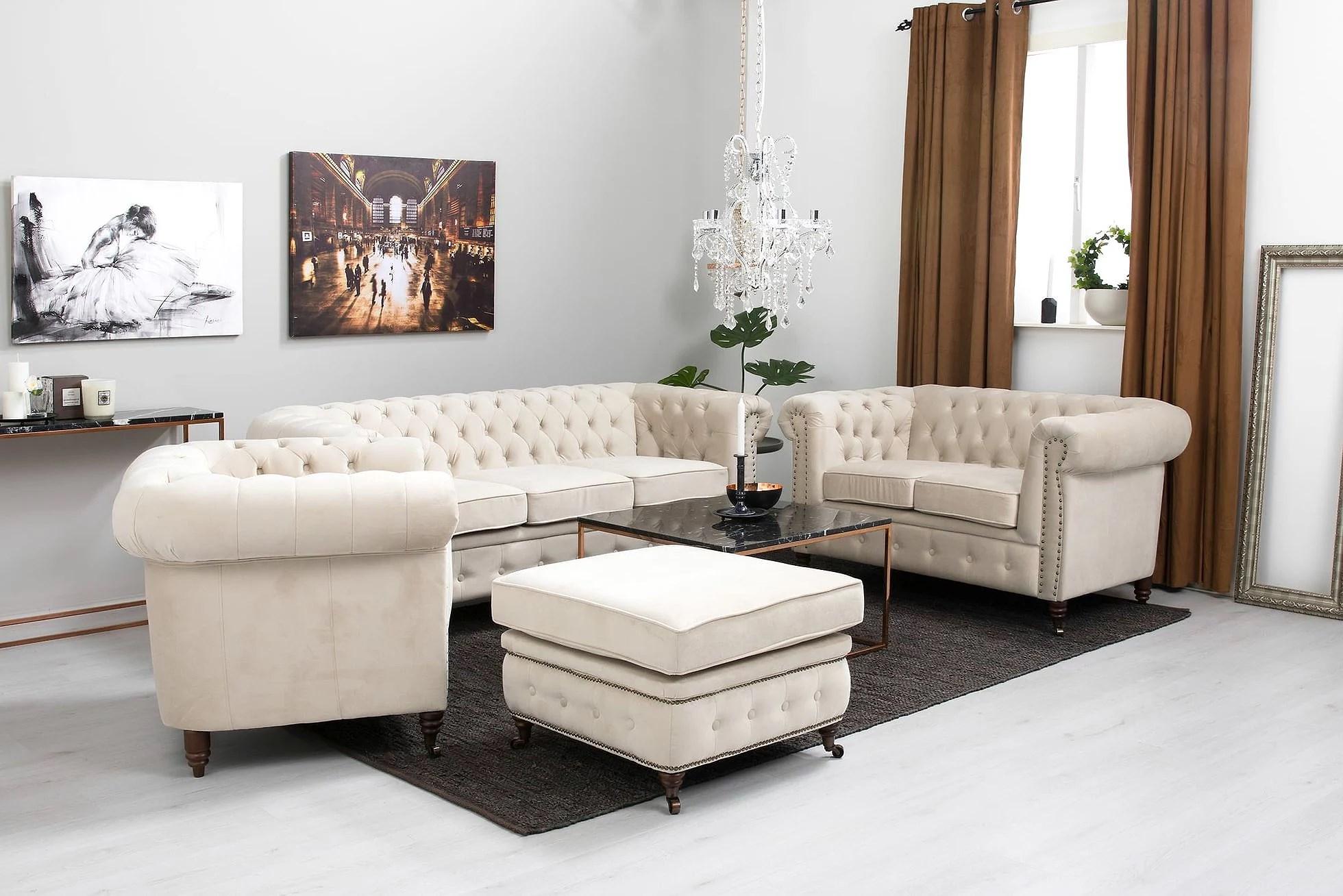 La oss snakke om sofaer