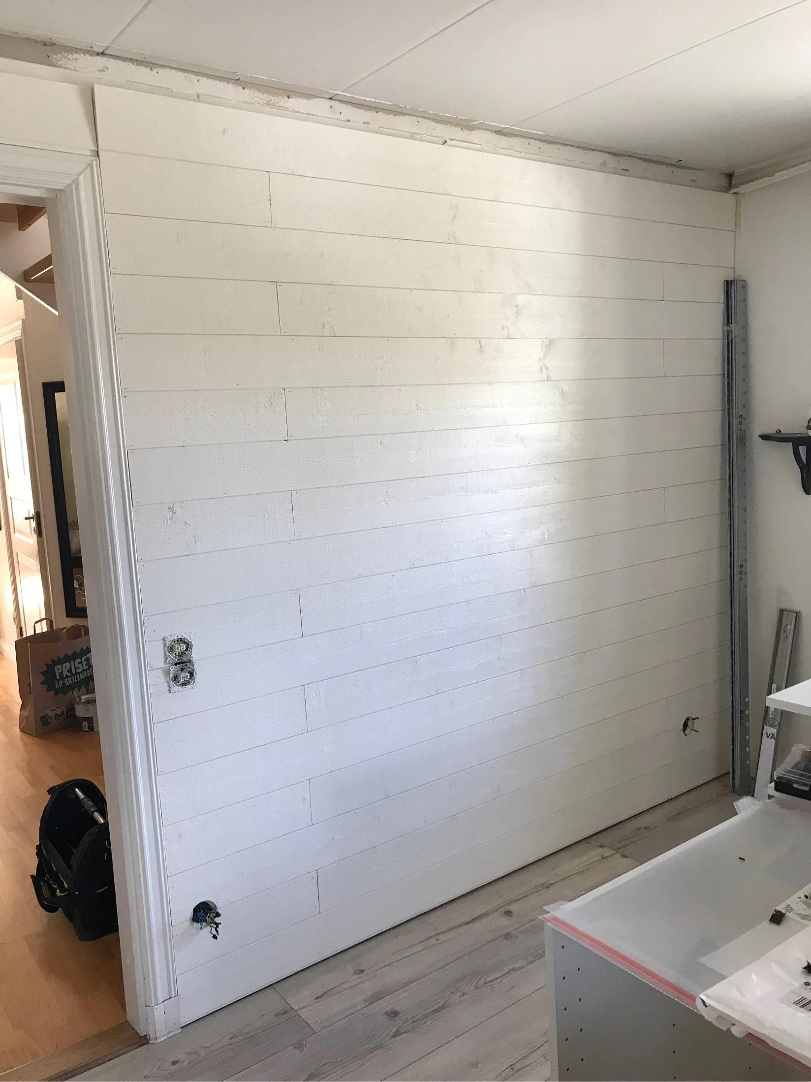 Min nya vägg