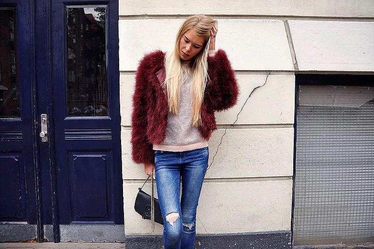 Outfit // Bordeaux