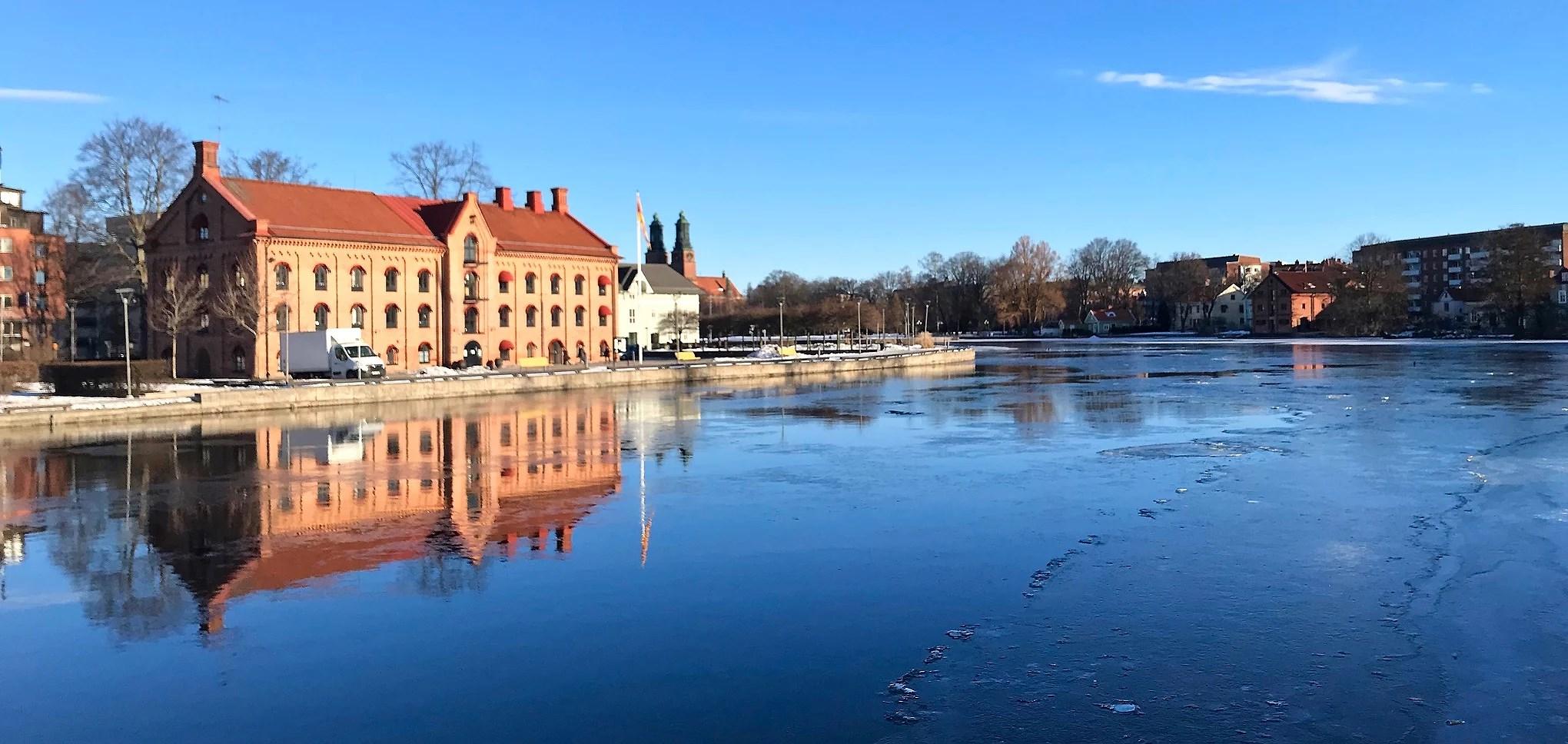 Morning walk in Eskilstuna