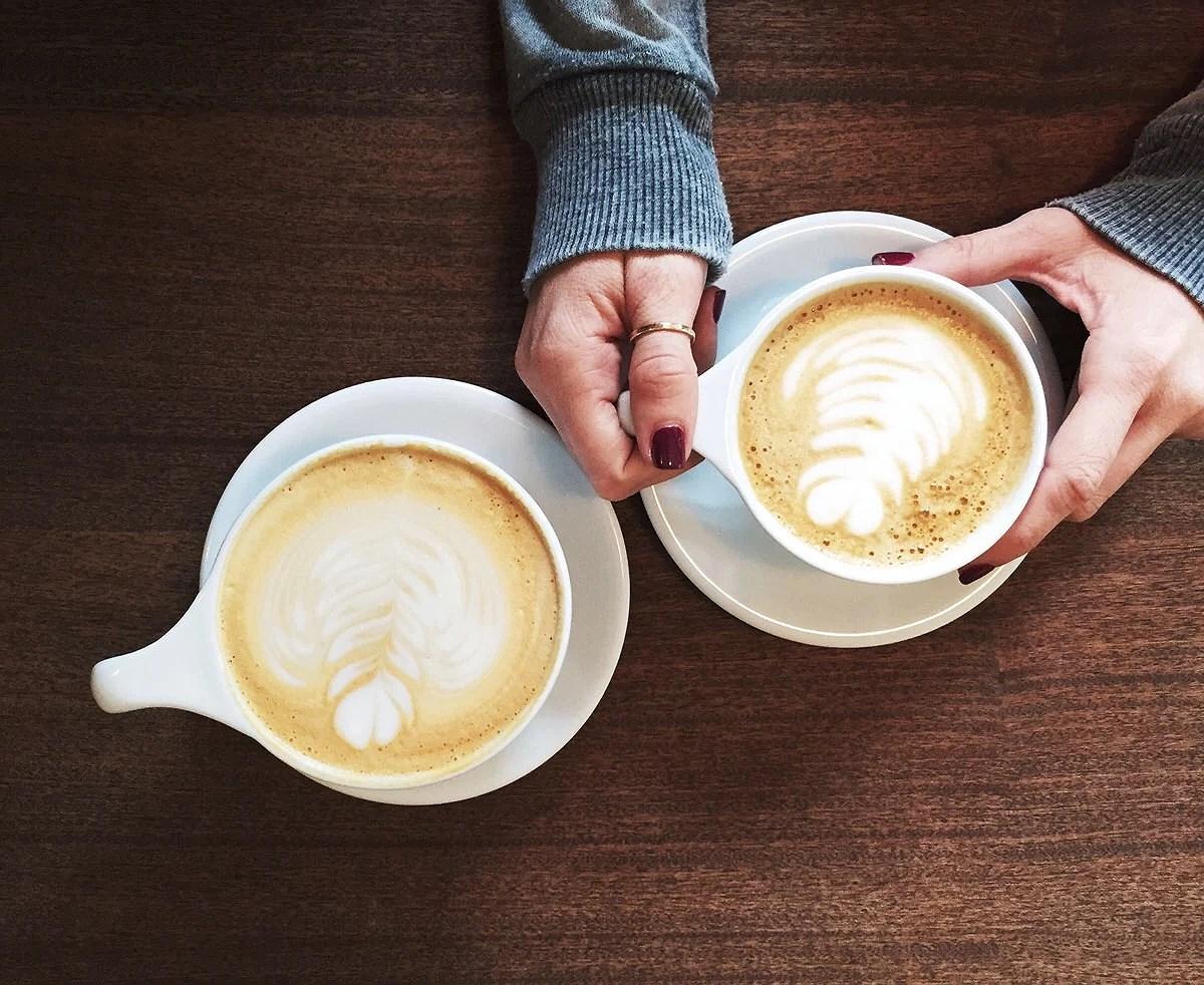 En kaffe i regnet ☕️