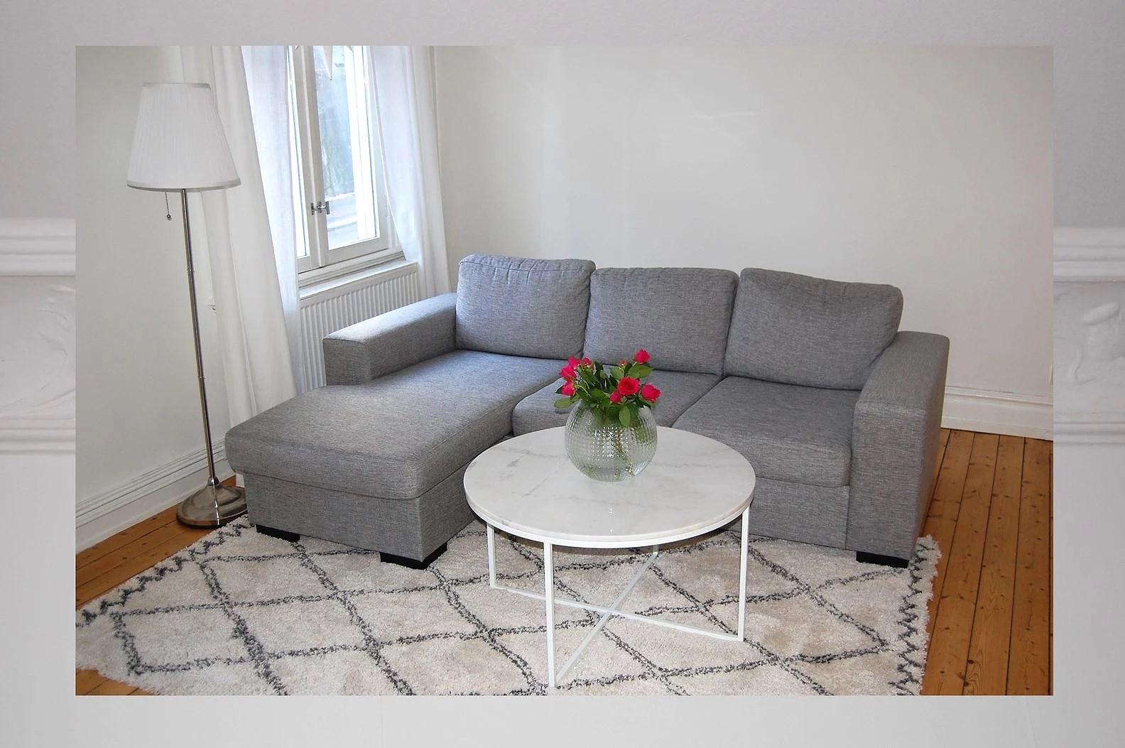 I vår lägenhet