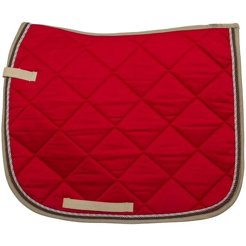 Röd och Beige dressyroutfit