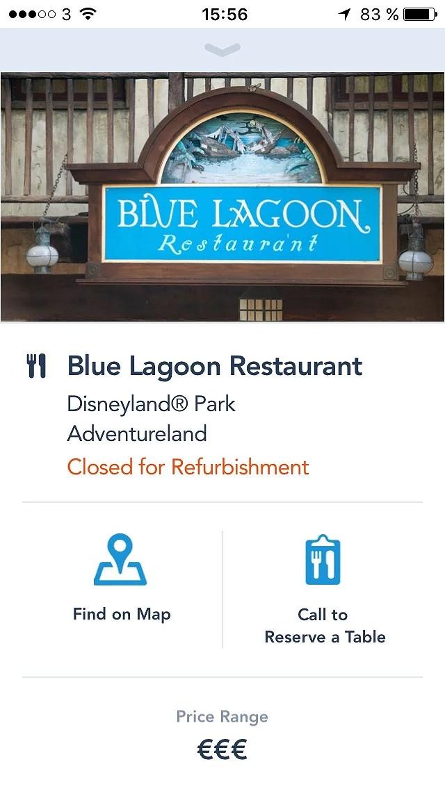 Blue Lagoon på Disneyland Paris ändrar namn