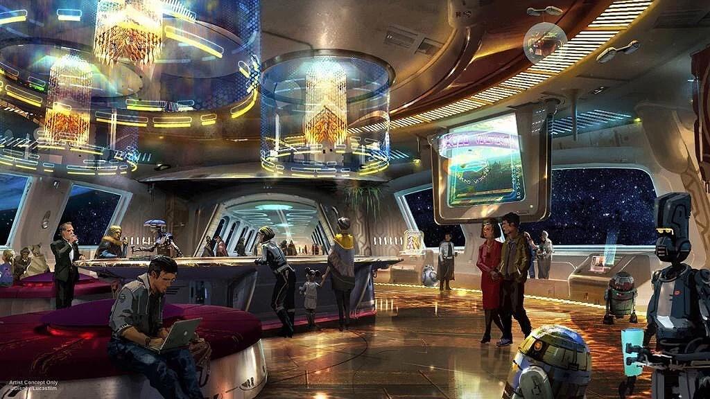 Star Wars hotell på Walt Disney World