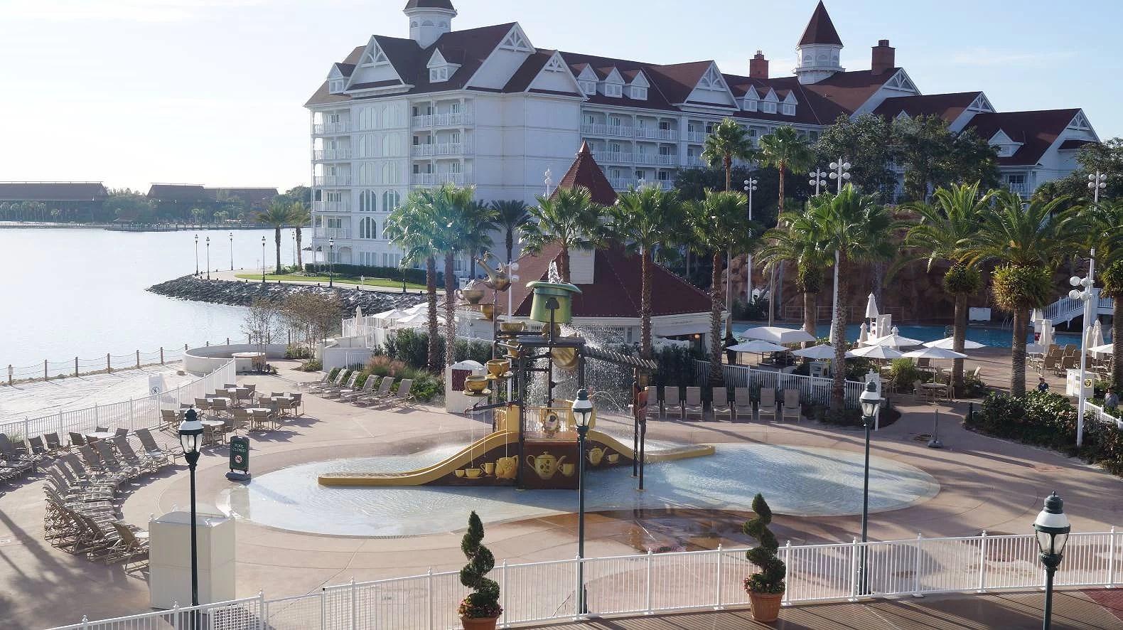 2-åring lämnad i varm bil på Disney's Grand Floridian