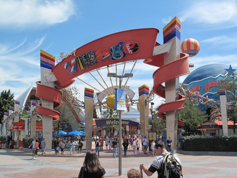 Bufférestaurang på Disneyland Paris - Disney Village (EuroDisney)