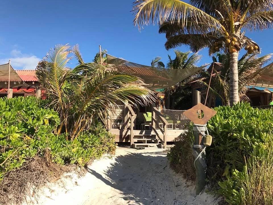 Cabana på Castaway Cay