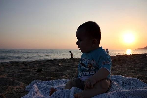 Evening fun at the beach