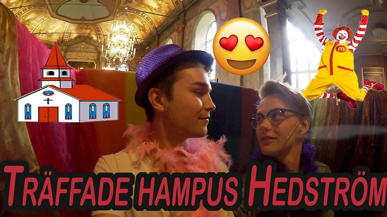 Vlogg : årskonfirmandsdag och träffade Hampus Hedström