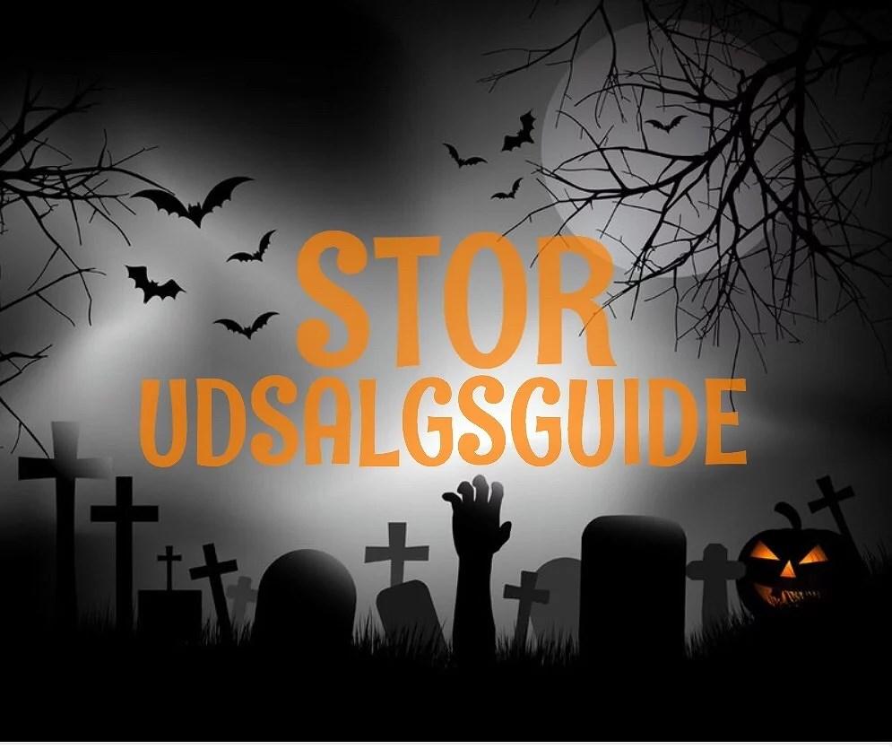 Tanker om halloween og en uhyggeligt god udsalgsguide