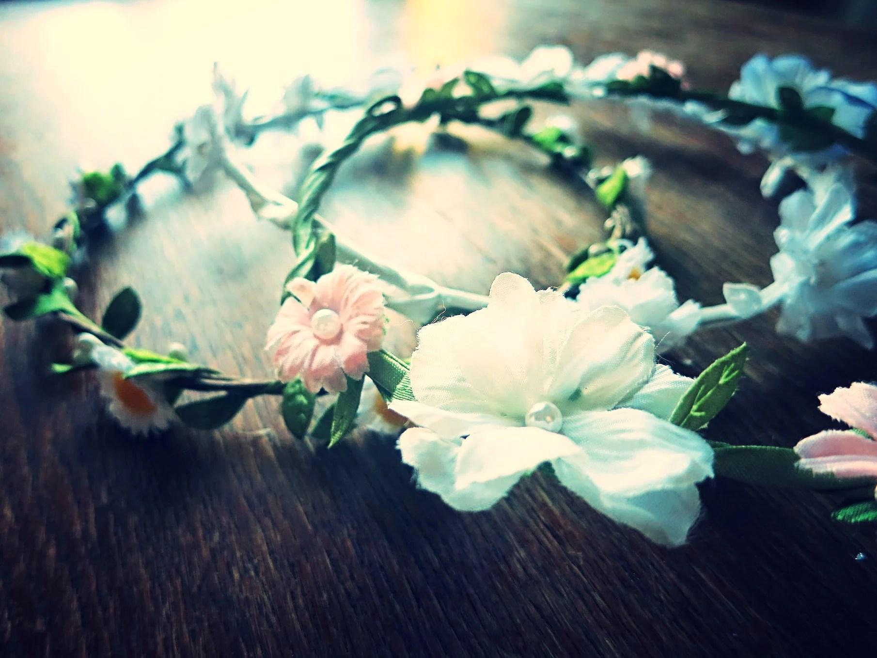 Blommor i håret