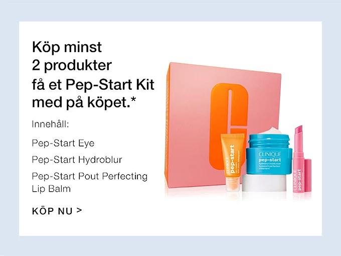 Få Pep-Start kit på köpet...