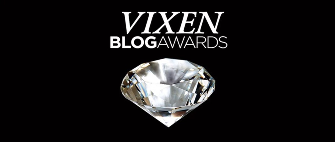Bilderesultat for vixen blog awards logo