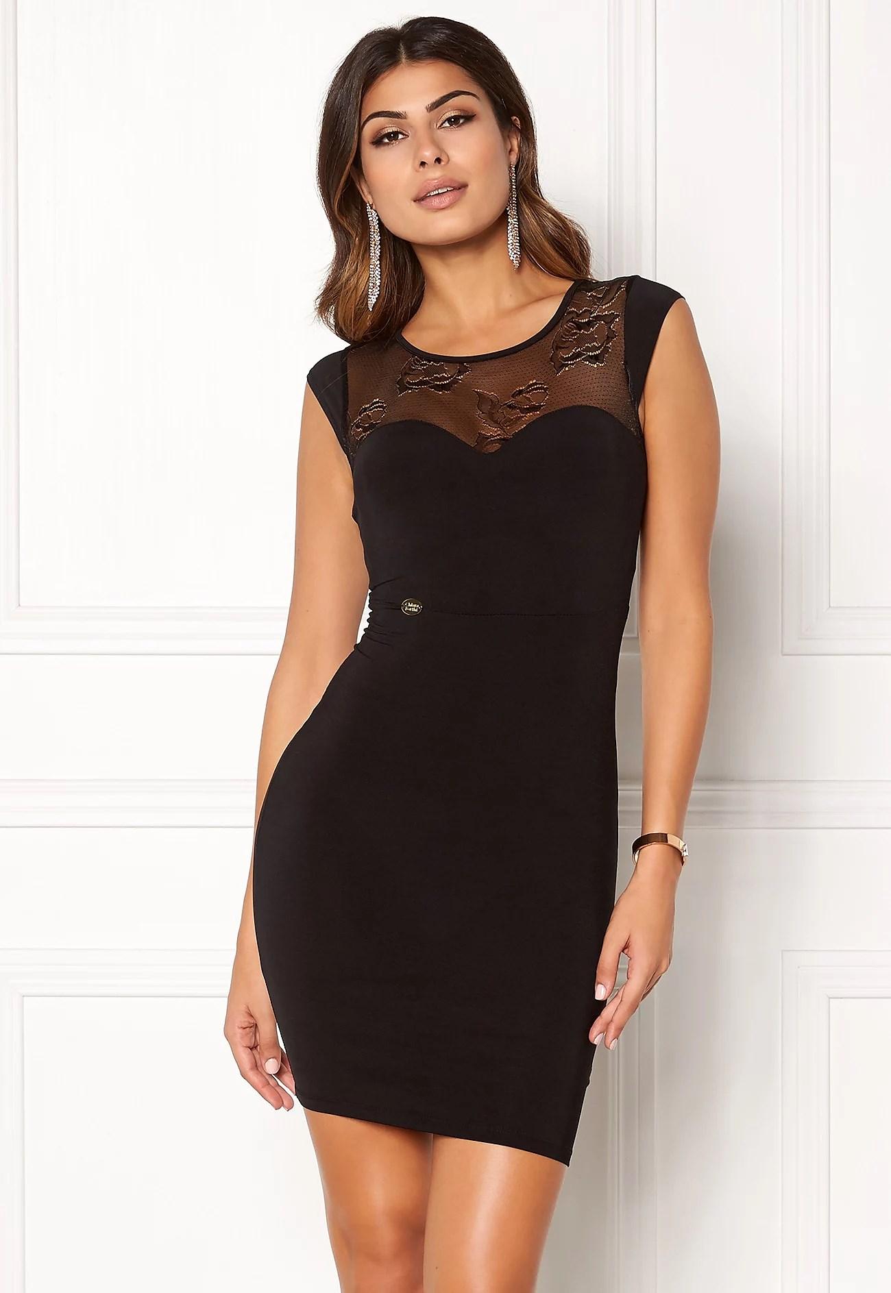 CHASMINA DRESS BLACK