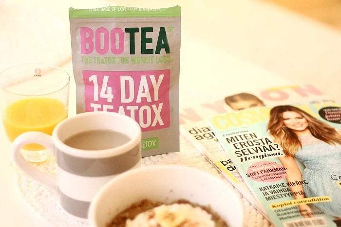The teatox: Bootea