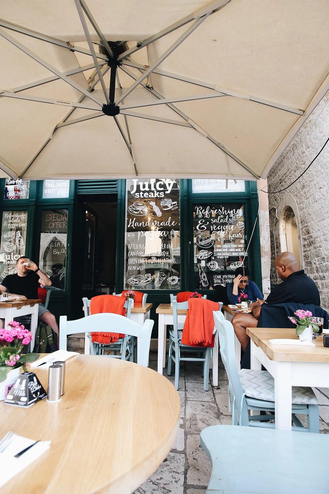 Ravintolavinkit Splitiin