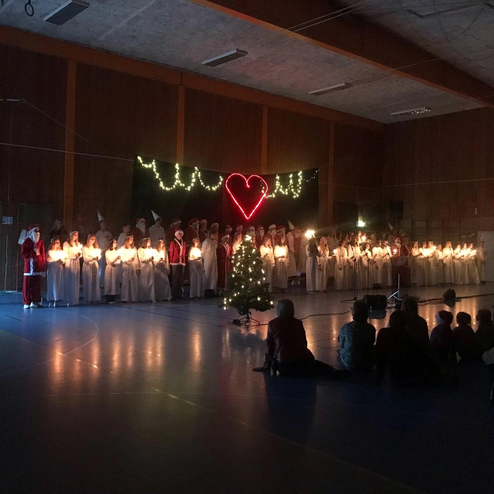 [luciadagen] gav verkligen julkänsla