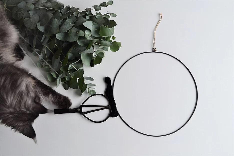 DIY eucalyptus krans maken