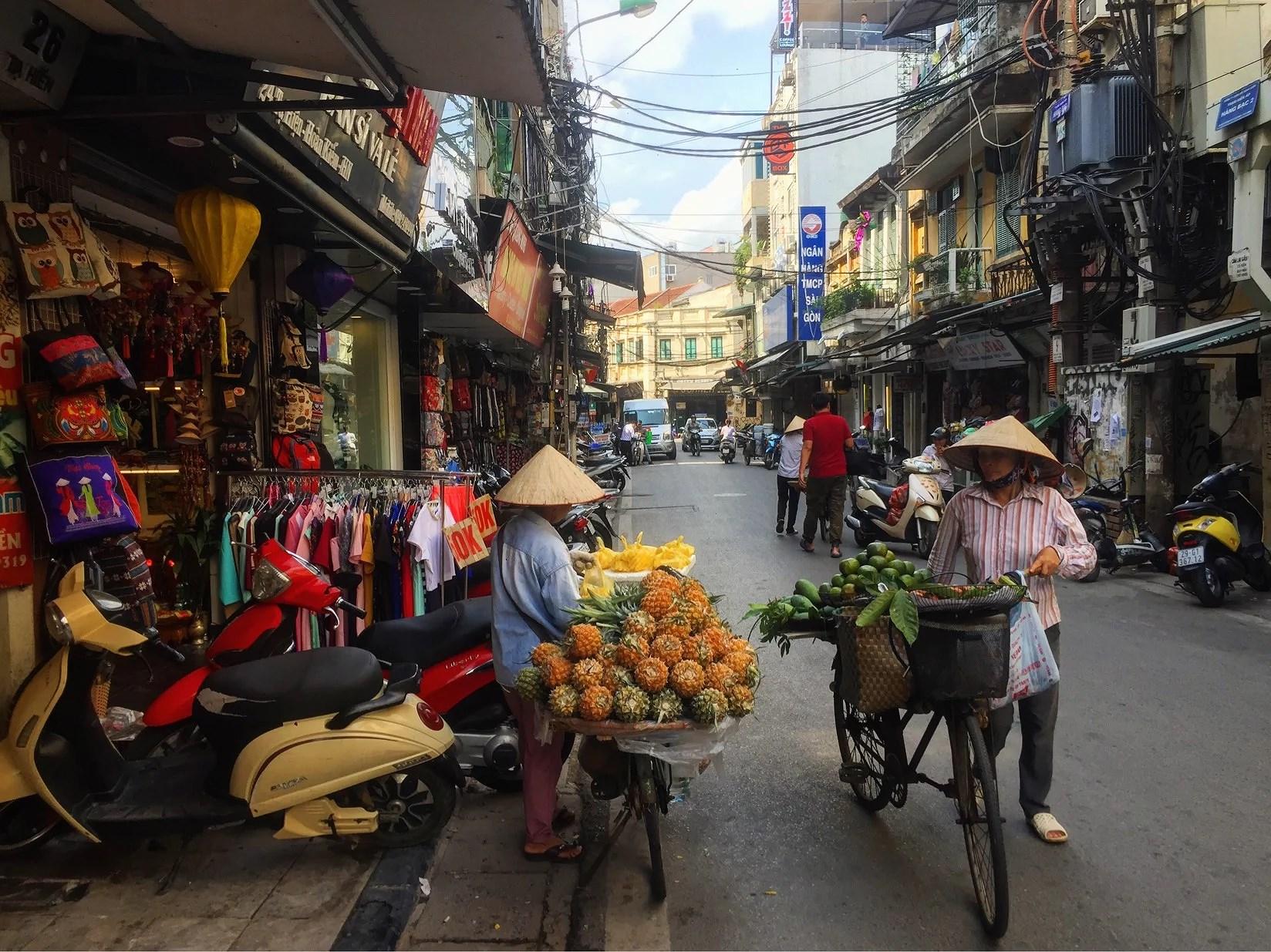 Ett avslut i Hanoi
