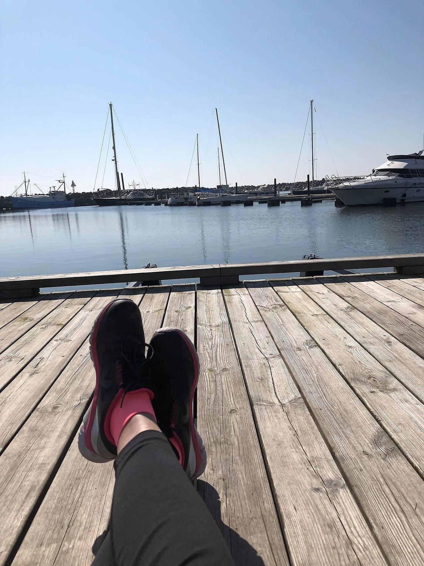 Solen gör en lycklig
