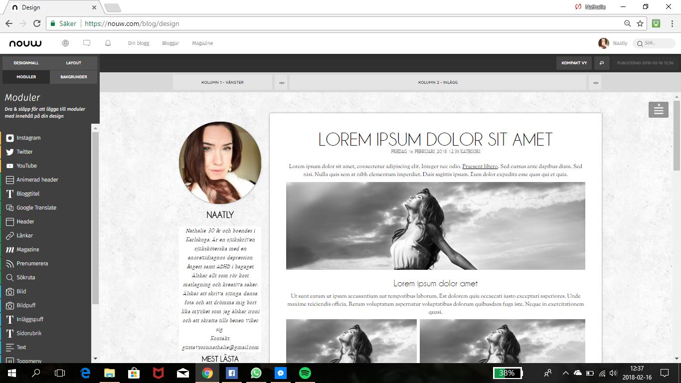 Förstört bloggen??!!