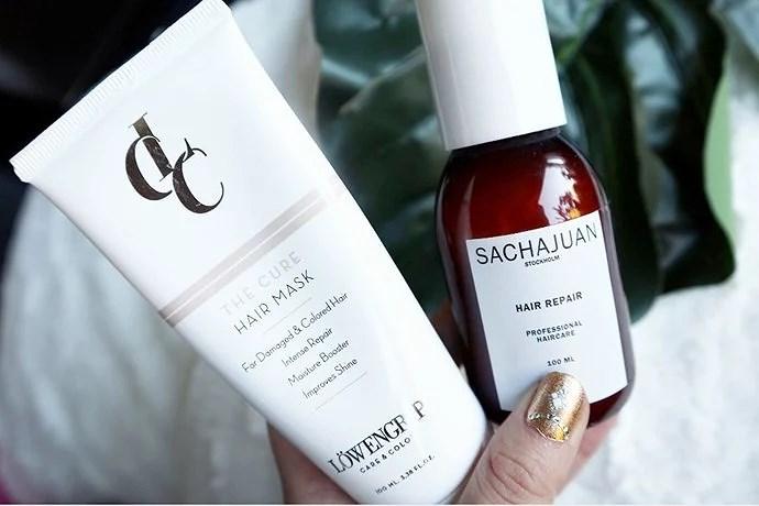 Veganska hårinpackningar - mina favoriter