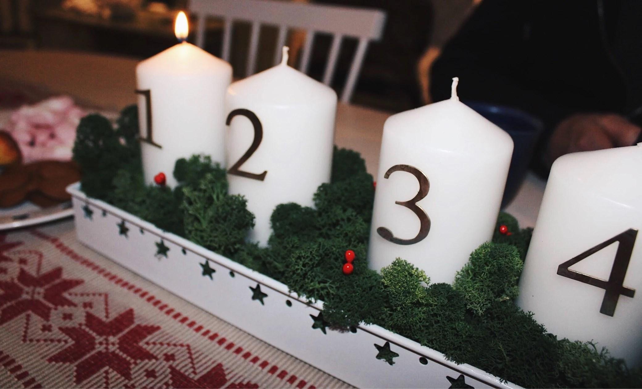 1 advent & ännu mer julgodis