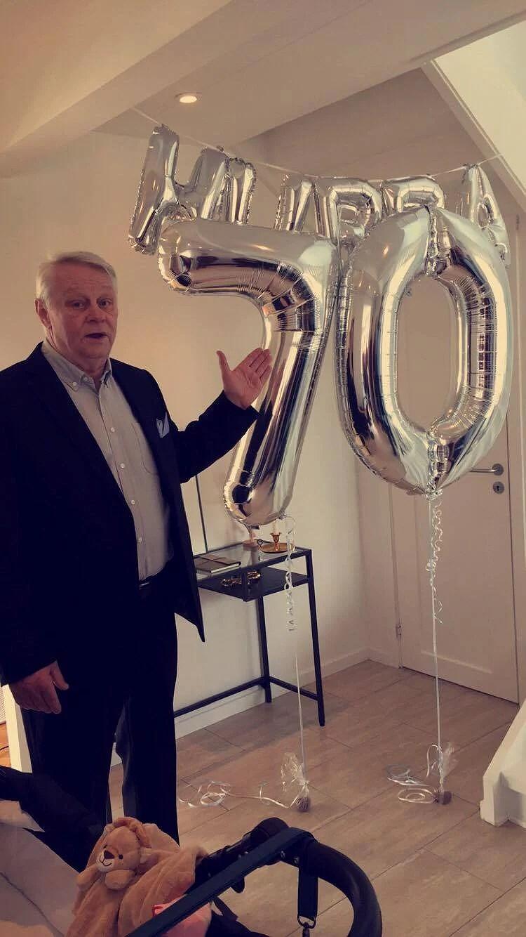 Morfar 70 år