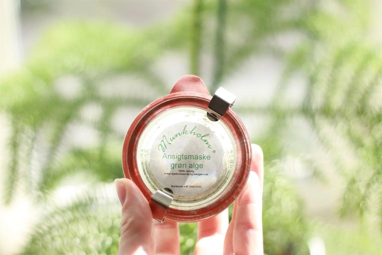 TREAT YOUR SKIN // Grønne alger