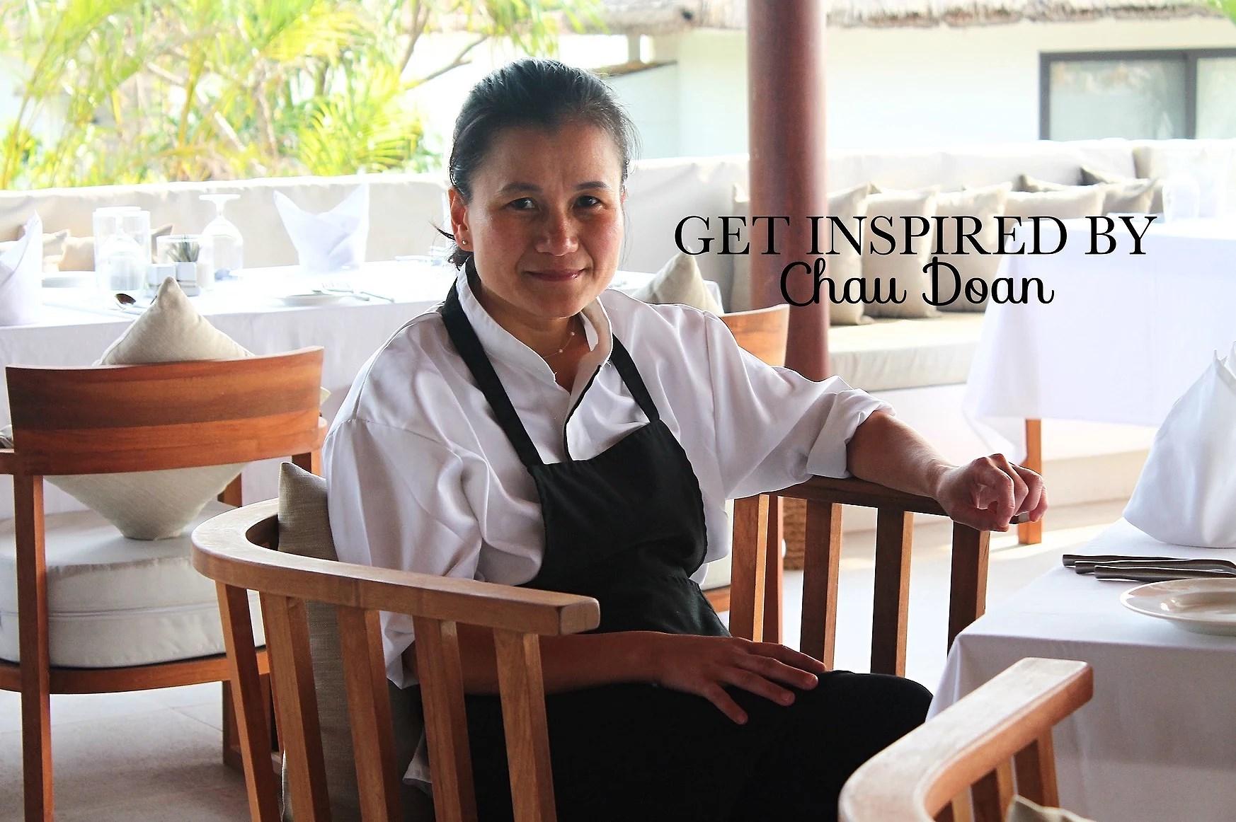 GET INSPIRED BY: CHAU DOAN