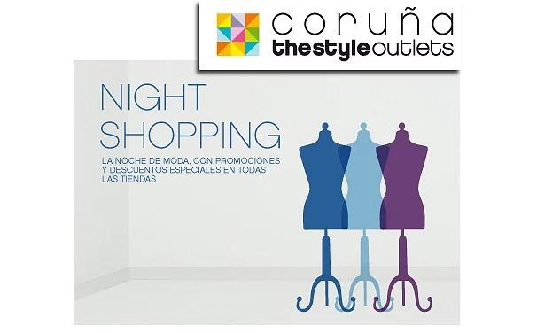 Fiesta Night Shopping - The Style Outlets de Coruña