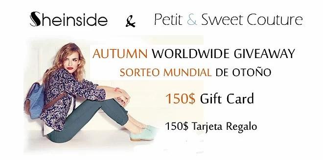 CLOSED! ...Sheinside 150$ Worldwide Giveaway!!!!....
