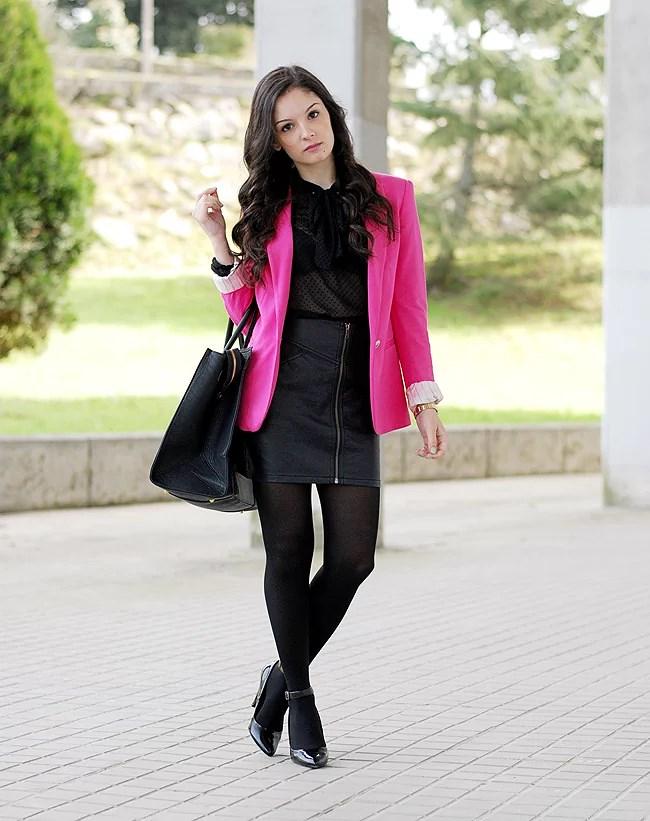 Black & Pink...