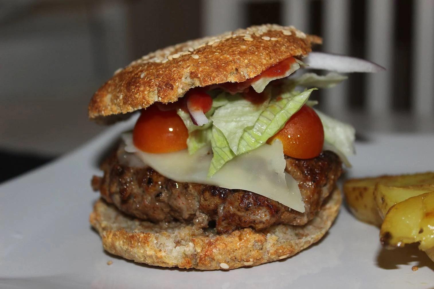 nyttiga hamburgerbröd recept