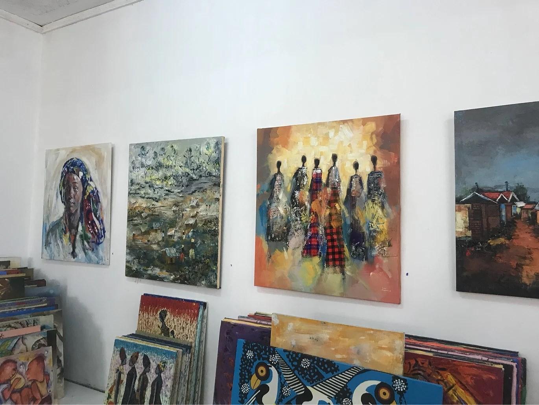 Banana Hill art gallery