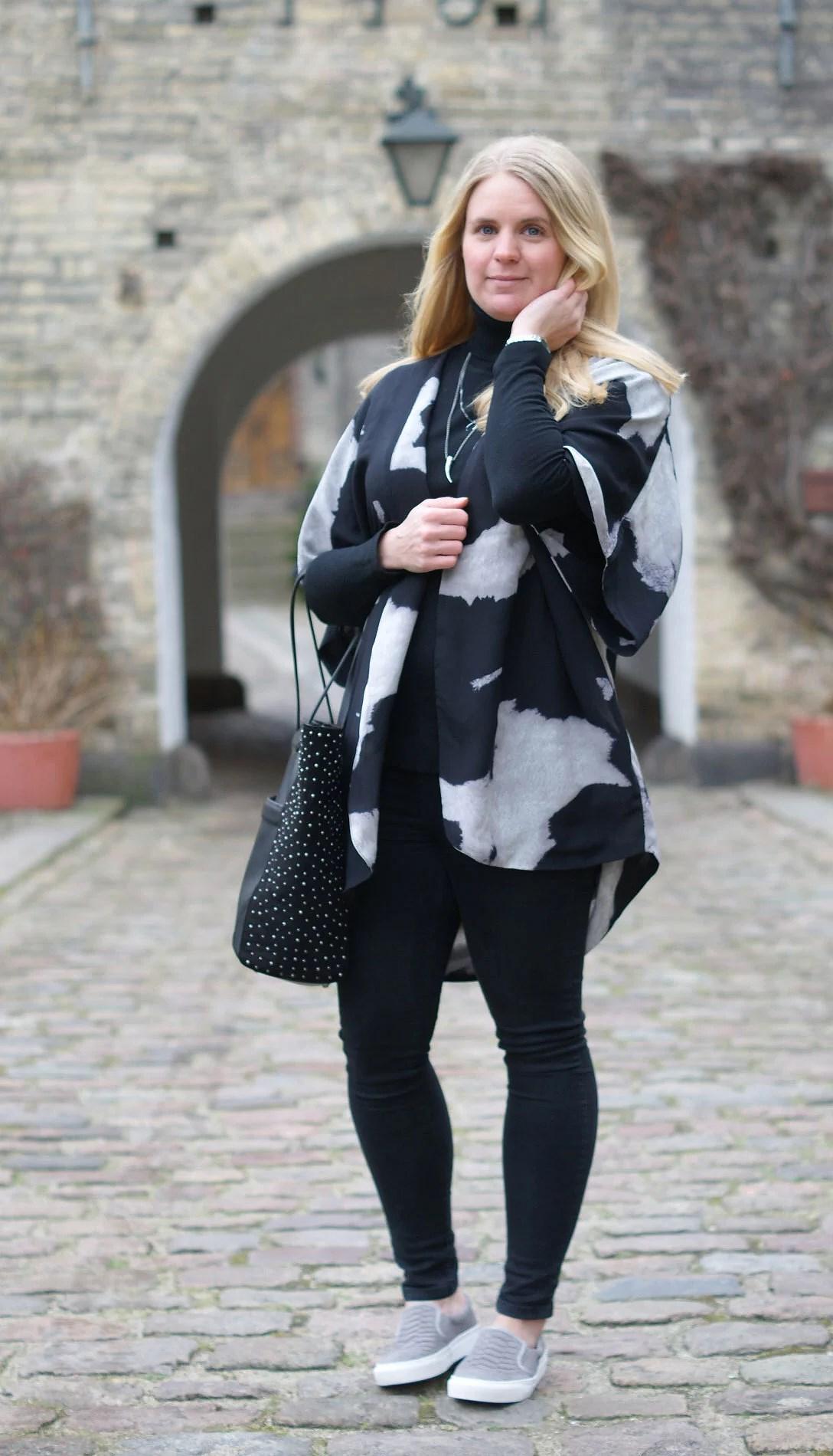 Aalborg, Aalborg blog, It's My Passions, Modeblogger i Aalborg, Modeblogger, Julie Mænnchen, Fransa læderjakke, H&M, Black Lily, Mode
