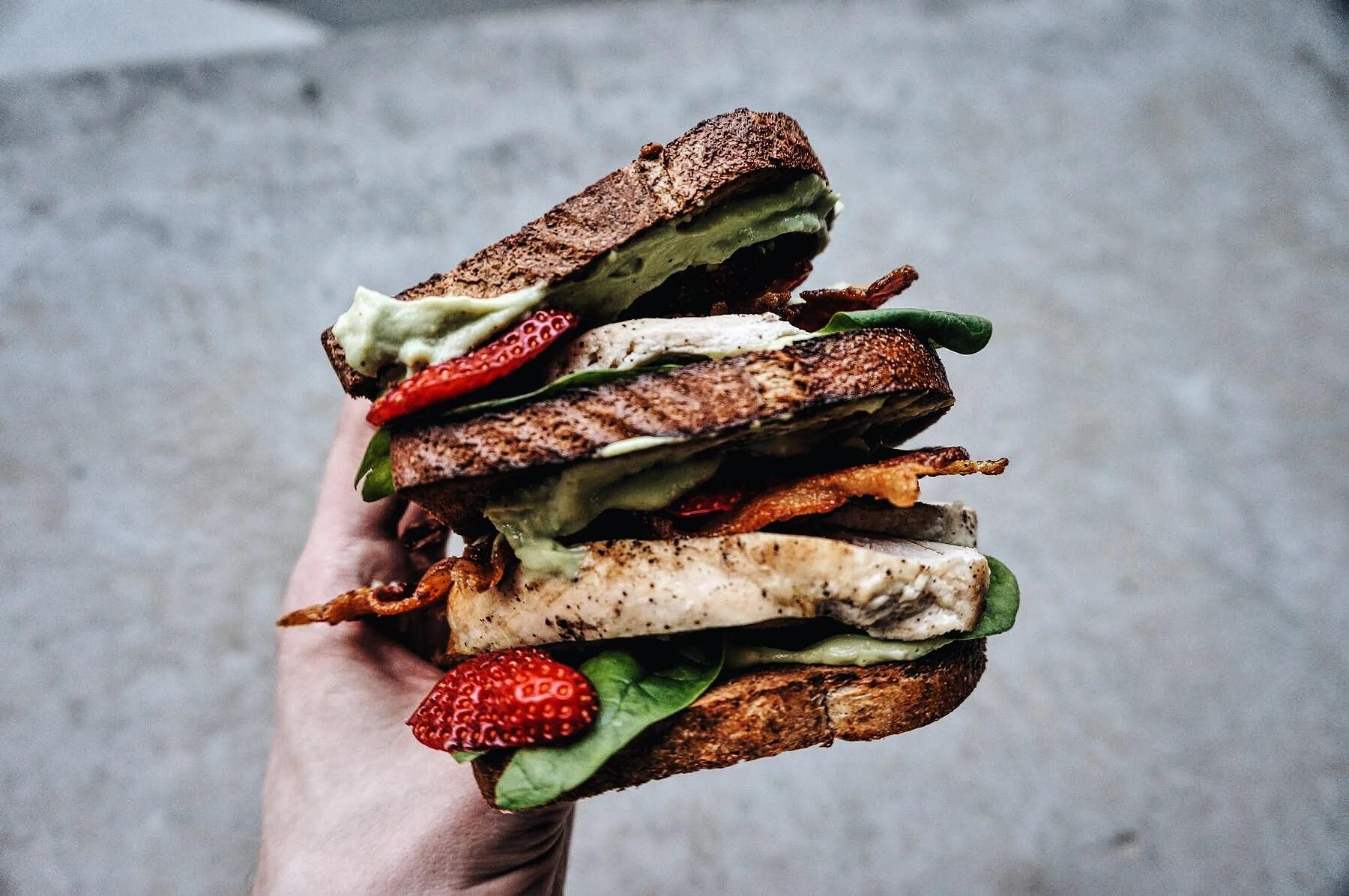 Chicken B.A.S.S Sandwich