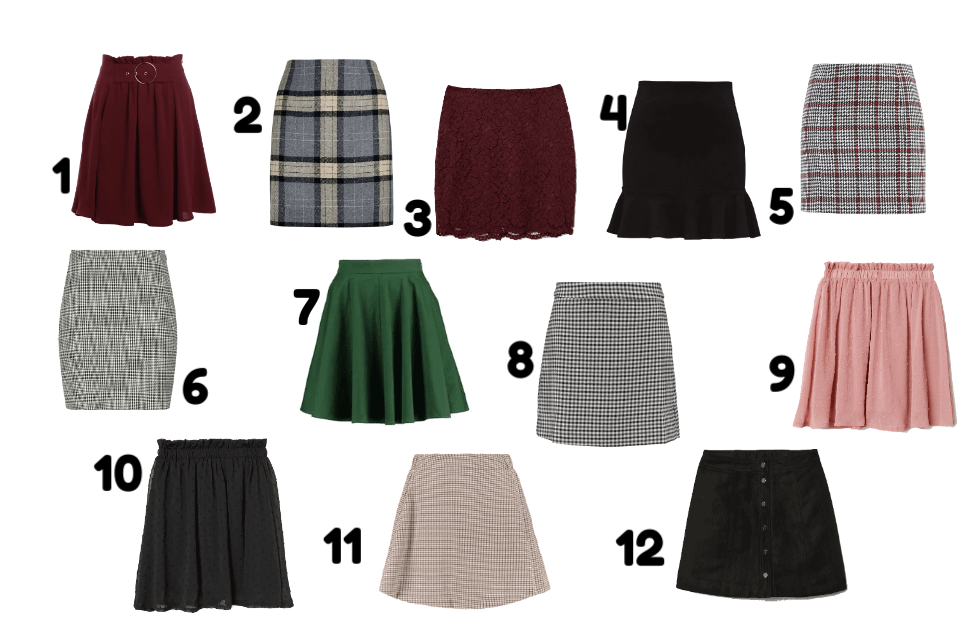 Fall guide #1: Skirts