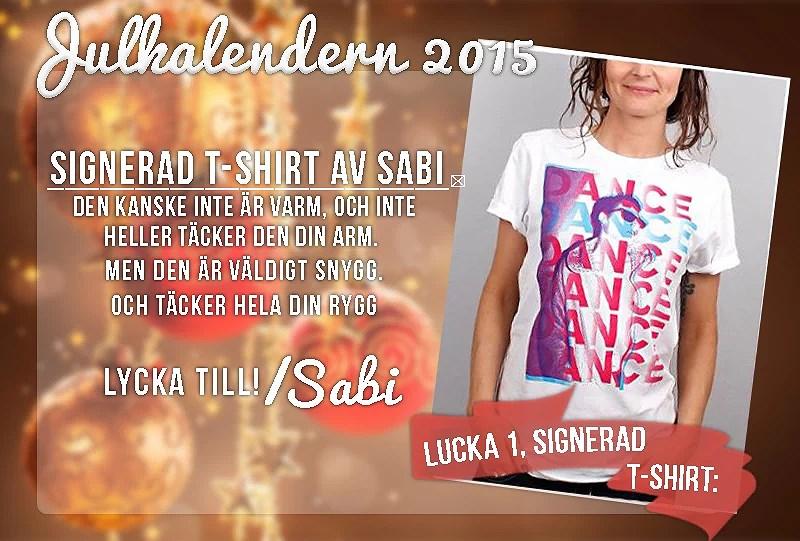 Julkalendern 2015 - Lucka 1