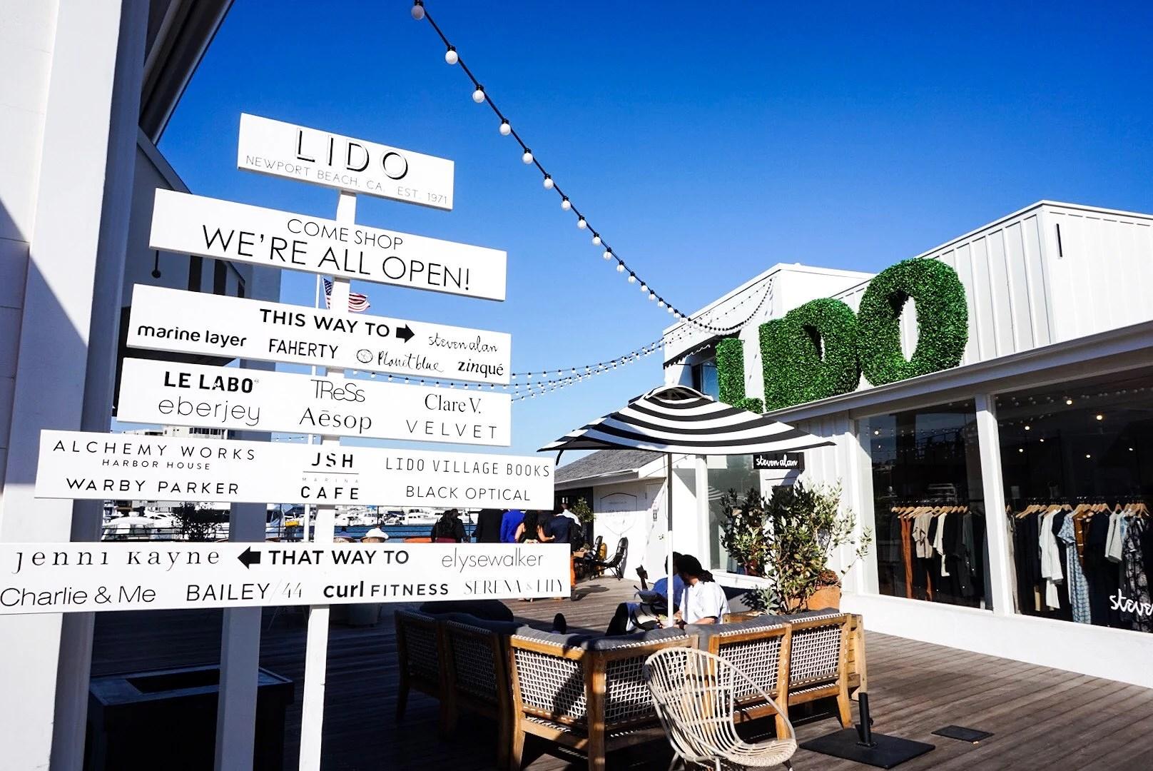LIDO VILLAGE - NEWPORT BEACH