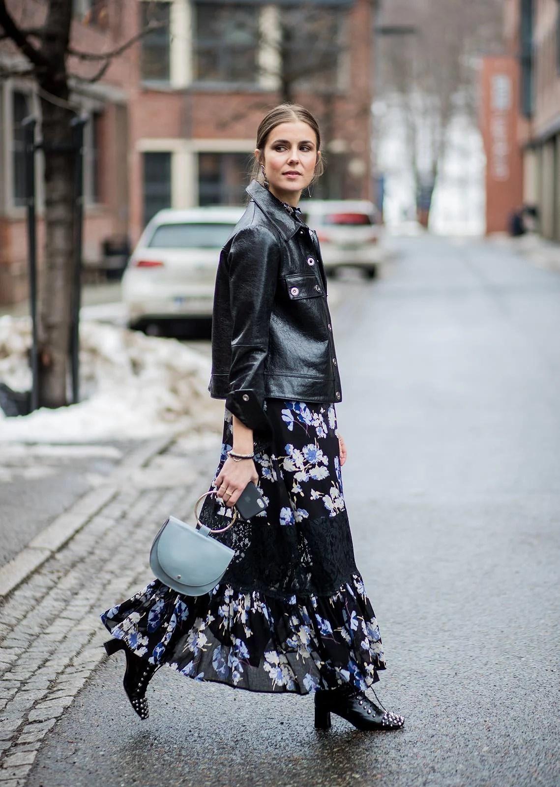 Flower dress /Oslo runway