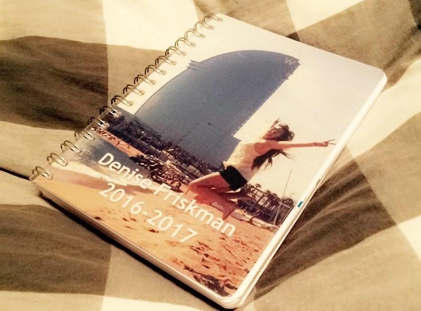 Glädjen över en ny almanacka