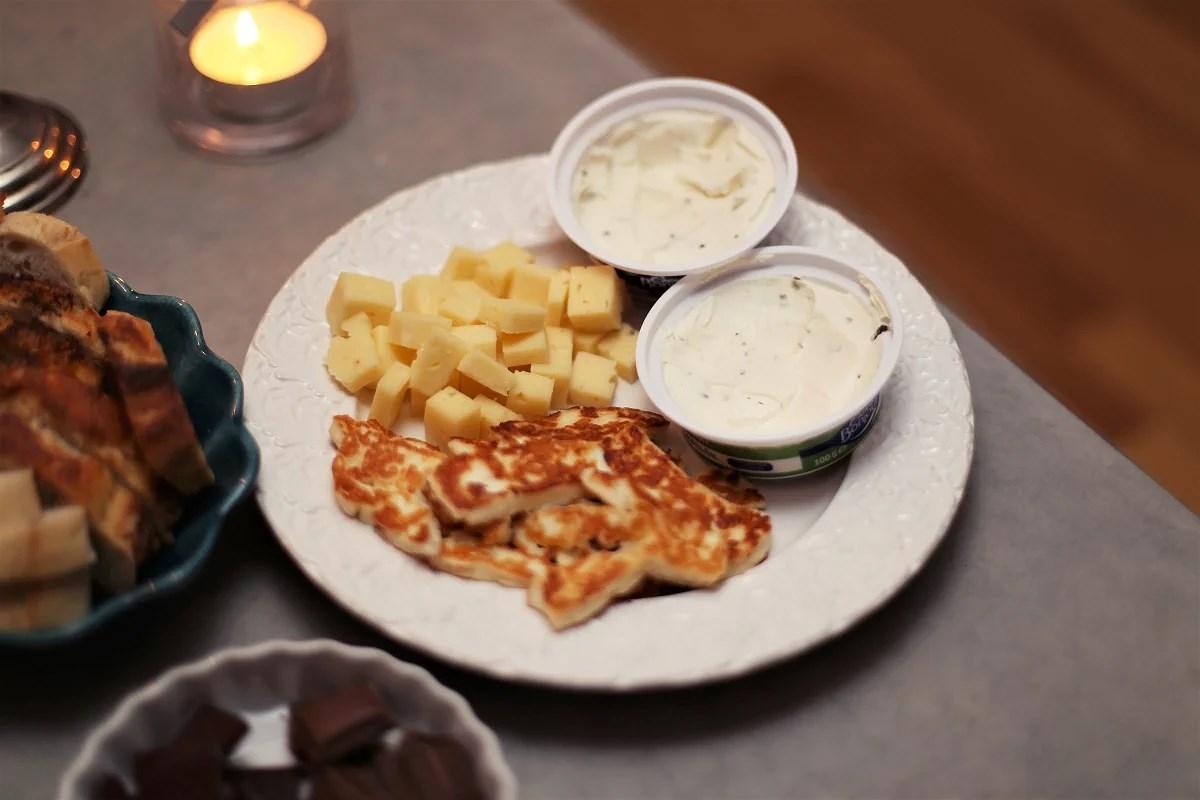 chark till middag & peppad på ny vecka