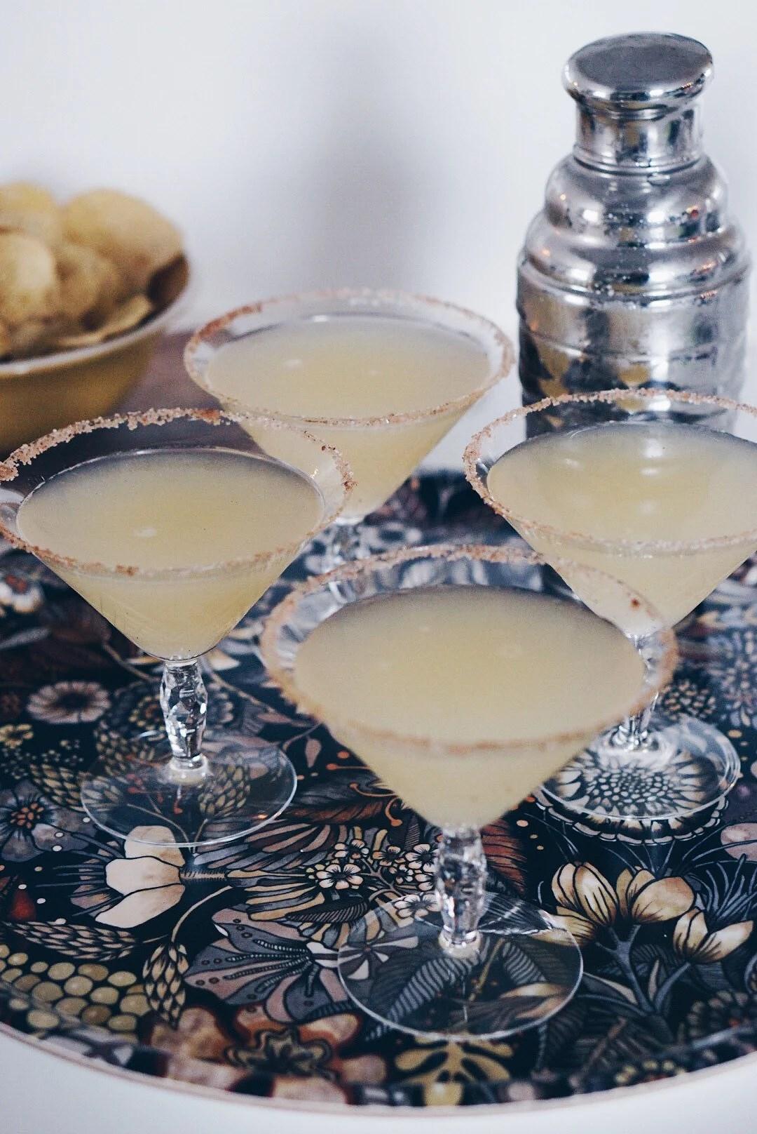 Frozen Applepie Martini