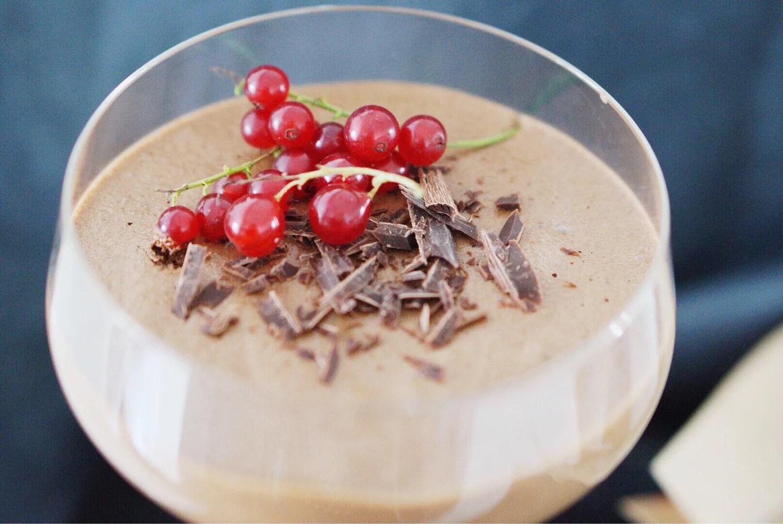 Fransk chokladmousse med endast ägg och choklad!