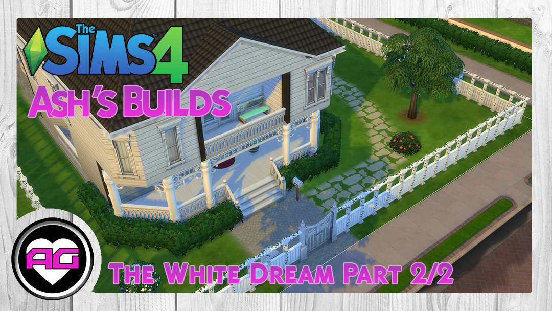 White dream house