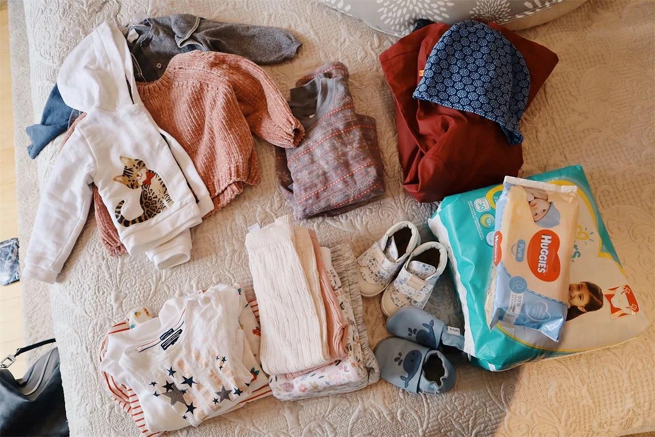 Vad packar man med till en 1åring på en weekend?