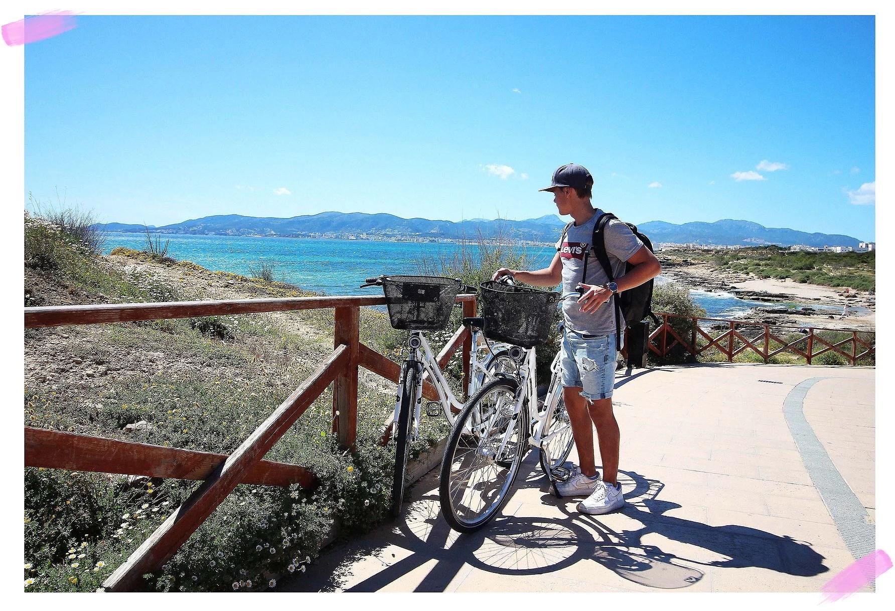 En cykeltur runt Mallorca.